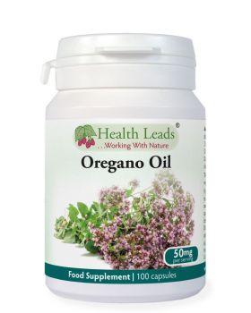 Health Leads Oregano Öl 25 mg x 100 Kapseln