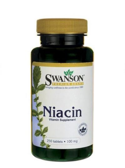 Swanson Niacin 100 mg 250 Tabletten