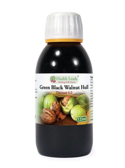 Health Leads Green Black Walnut Hull Tincture 1:2 125ml
