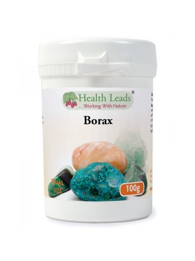 Health Leads Borax Pulver 100-1000g