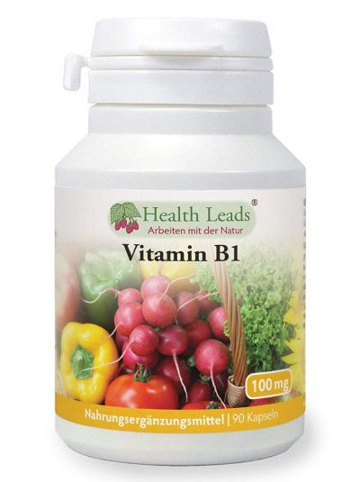 HEALTH LEADS VITAMIN B1 100 MG X 90 KAPSELN