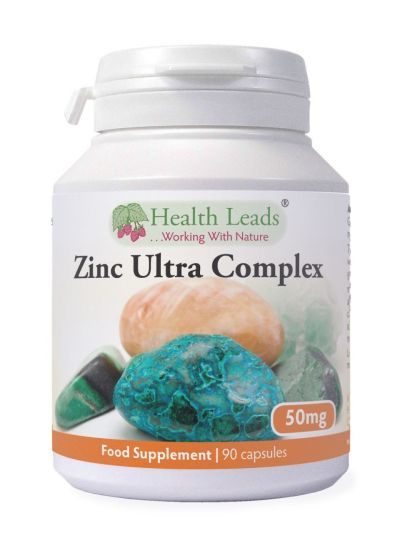 HEALTH LEADS ZINK ULTRA KOMPLEX 50MG X 90 KAPS
