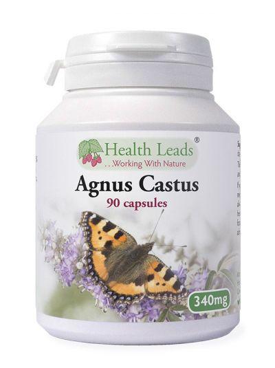 Health Leads Agnus Castus 340mg x 90 capsules