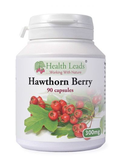 Health Leads Hawthorn Berry 300mg x 90 capsules