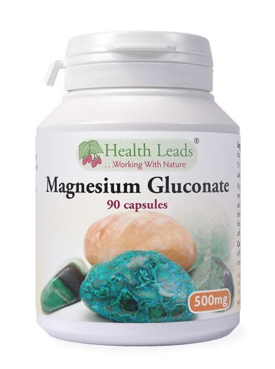 Health Leads Magnesiumgluconate 500mg 90 capsules
