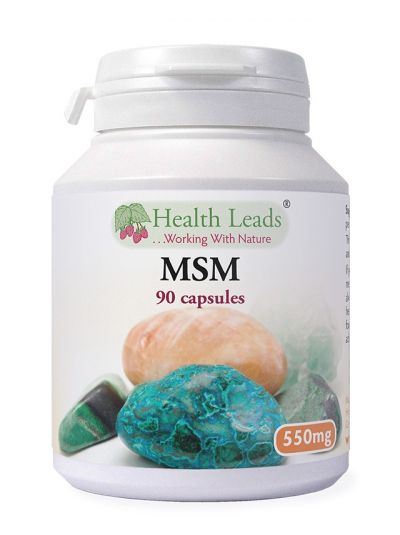 Health Leads MSM 550mg x 90 capsules