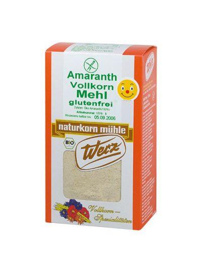 WERZ NATURKORNMÜHLE Amaranth-Vollkorn-Mehl glutenfrei 500gr