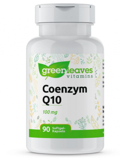 Green Leaves Coenzym Q10 (100 mg) 90 capsule