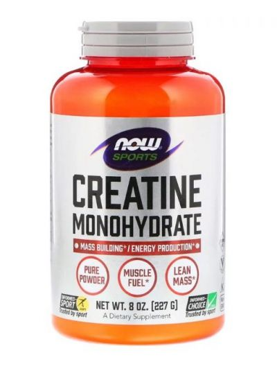 NOW FOODS CREATINE MONOHYDRAT 227g