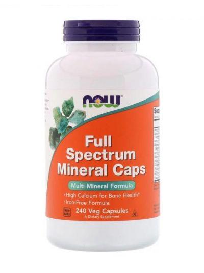Now Foods VOLLSpektrum Mineralien kapseln 240 Kapseln