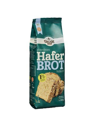Bauckhof Bio Haferbrot Vollkorn Backmischung, glutenfrei 500g