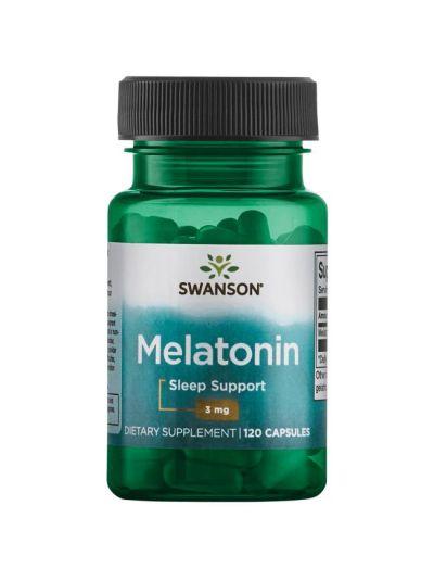 Swanson Melatonin 3 mg 120 capsules