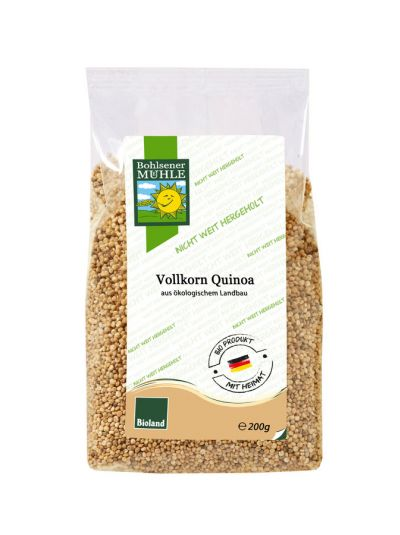 Bohlsener Mühle Vollkorn Quinoa aus Deutschland 200 g
