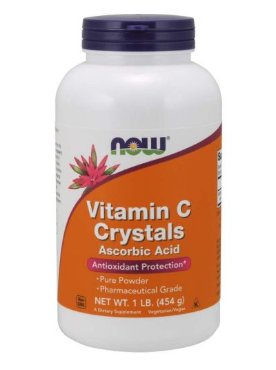 Now Foods Vitamin C Crystals 454 g