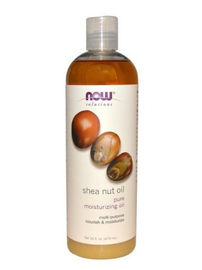 NOW FOODS SHEA NUT OIL PURE MOISTURIZING OIL 473 ML