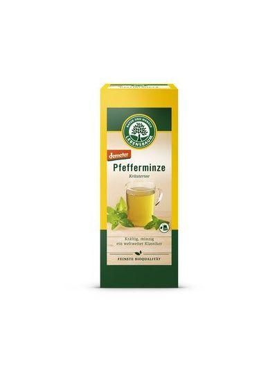 Lebensbaum Natur und Mensch Pfefferminze Tee, Demeter (20 Aufgussbeutel à 1,5 g)