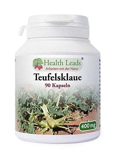 HEALTH LEADS TEUFELSKRALLE 400 MG X 90 KAPSELN