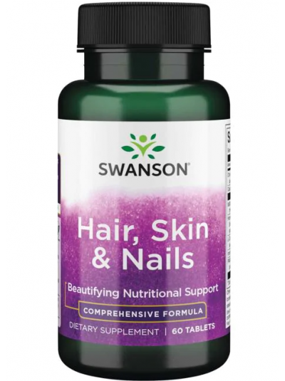 Swanson Hair, Skin & Nails - 60 Tablets