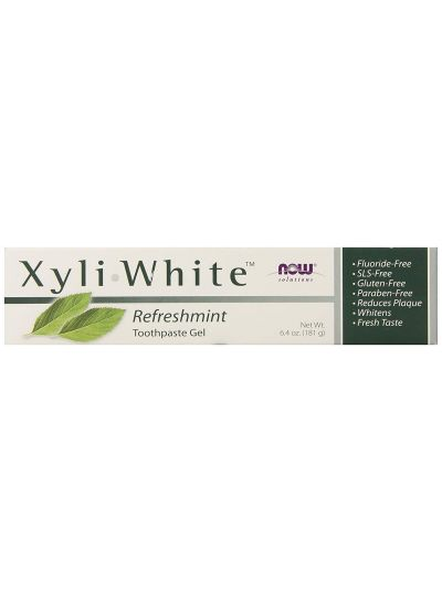 Now Foods XyliWhite Gel-Zahnpasta RefreshMint 181 g