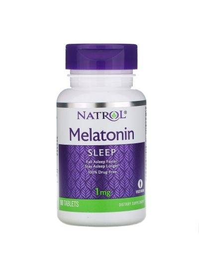 Natrol Melatonin 1 mg, 90 Tablets