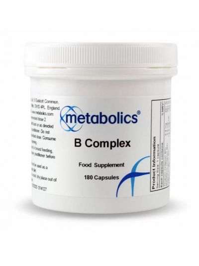 Metabolics Vitamin B complex (highly Bioavaible)) 180 capsules