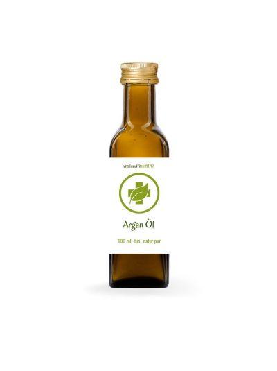 Vitalundfitmit100 Bio Arganöl (kaltgepresst) 100 ml