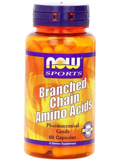 Now Foods Branched Chain Amino Acids 60 Capsules