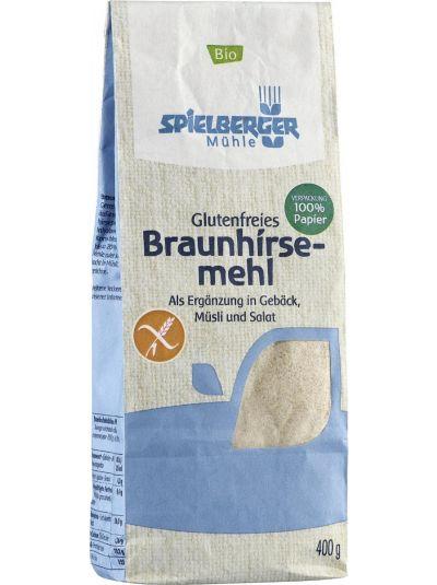 SPIELBERGER MÜHLE Glutenfreies BIO Braunhirsemehl 400g