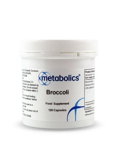 Metabolics Brokkoli (Brassica Oleracea) 470 mg 120 Kapseln