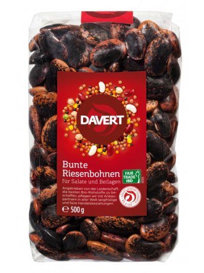 Davert Bunte Riesenbohnen Fair Trade IBD 500g