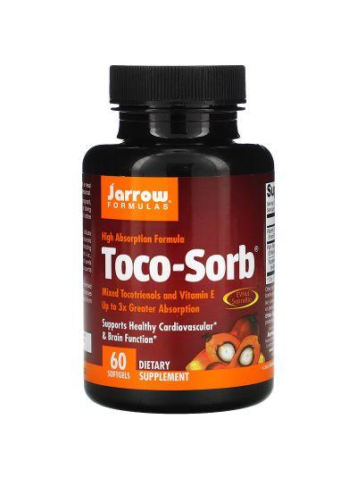 Jarrow Formulas Tocotrienole MIT EVNOL SUPRABIO, gemischte Tocotrienole und Vitamin E, 57mg , 60 Kapseln