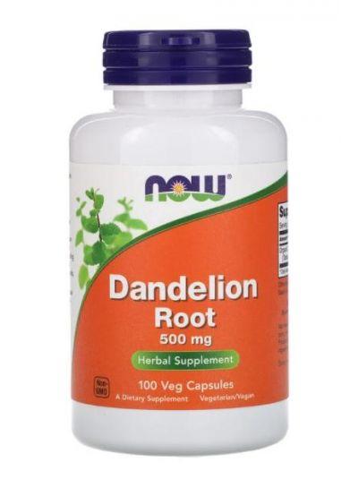 Now Foods Dandelion Root 500 mg, 100 Veg Capsules