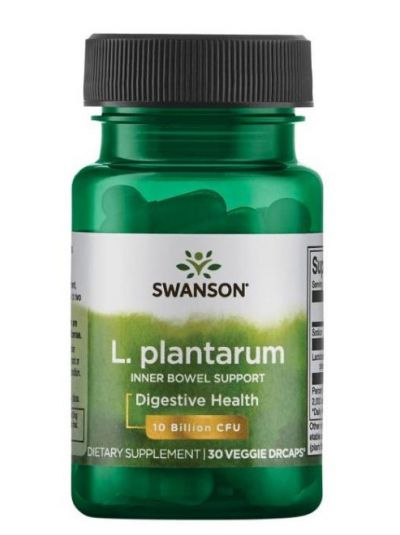 Swanson L. plantarum untere Darmtrakt unterstützung 30 Kapseln