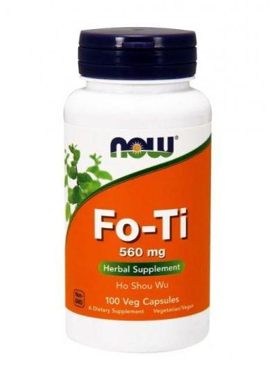 Now Foods Fo-Ti Ho Shou Wu 560 mg 100 Veg-Kapseln