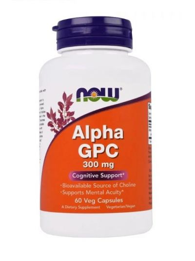 Now Foods Alpha GPC 300 mg 60 Vcaps®