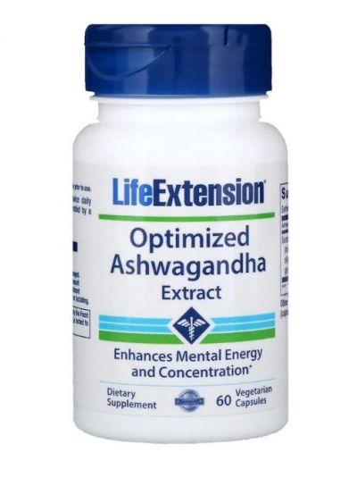 Life Extension OPTIMISED ASHWAGANDHA EXTRACT 60 Kapseln