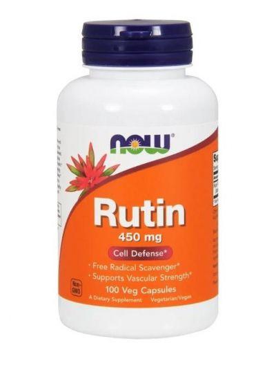 Now Foods, Rutin, 450 mg, 100 Veg Kapseln