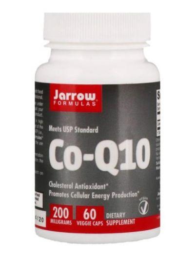 JARROW FORMULAS CO-Q10, 200 MG, 60 VEGETARISCHE KAPSELN