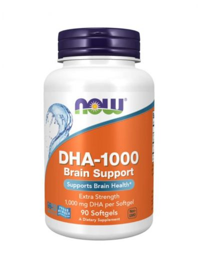 NOW FOODS DHA-1000 Brain Support 90 SOFTGELS
