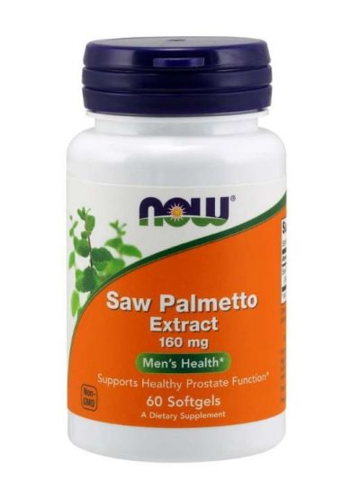Now Foods Saw PAlmetto Extrakt 160 mg 60 Softgel Kapseln