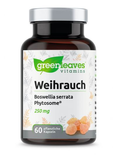 Green Leaves Weihrauch – Boswellia serrata-Extrakt 60 Kapseln