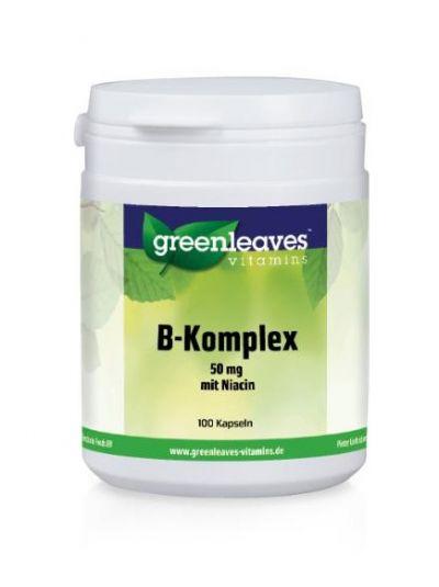 Green Leaves Vitamins VITAMIN B kOMPLEX m. Niacin 50 mg 100 Kapseln