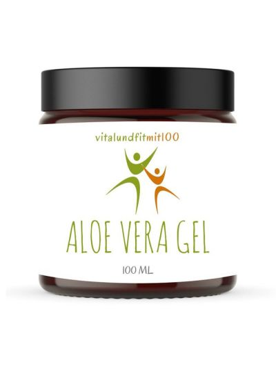 Vitalundfitmit100 Aloe Vera Hautgel 100 ml