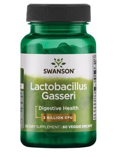 Swanson Probiotics- Lactobacillus Gasseri 3 Billion CFU 60 Veggie Drcaps
