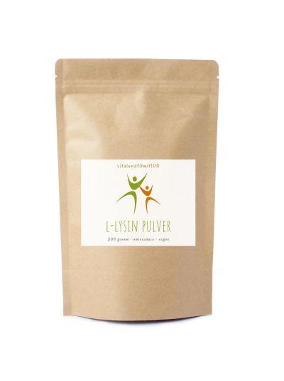 Vitalundfitmit100 L-Lysin Pulver (HCL) 300 g