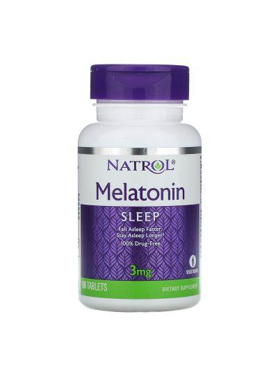 Natrol Melatonin 3 mg, 60 Tablets