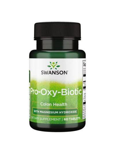 Swanson Pro Oxy Biotic mit Probiotika und Präbiotika 60 Tabletten