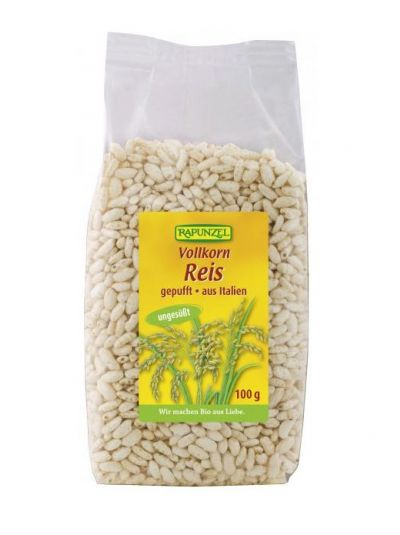 Rapunzel Vollkorn Reis gepufft 100 g