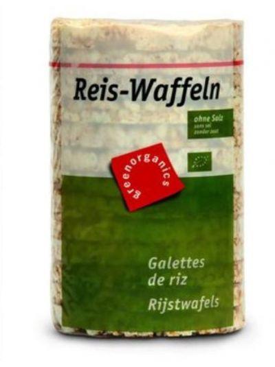 Greenorganics Reis-waffeln ohne Salz 100g