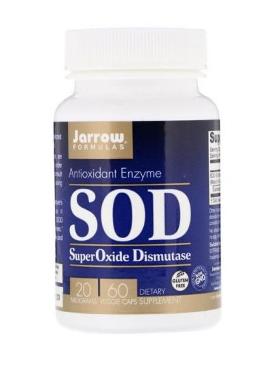 Jarrow Formulas Superoxid-Dismutase (SOD) 20 mg 60 vegetabilische Kapseln